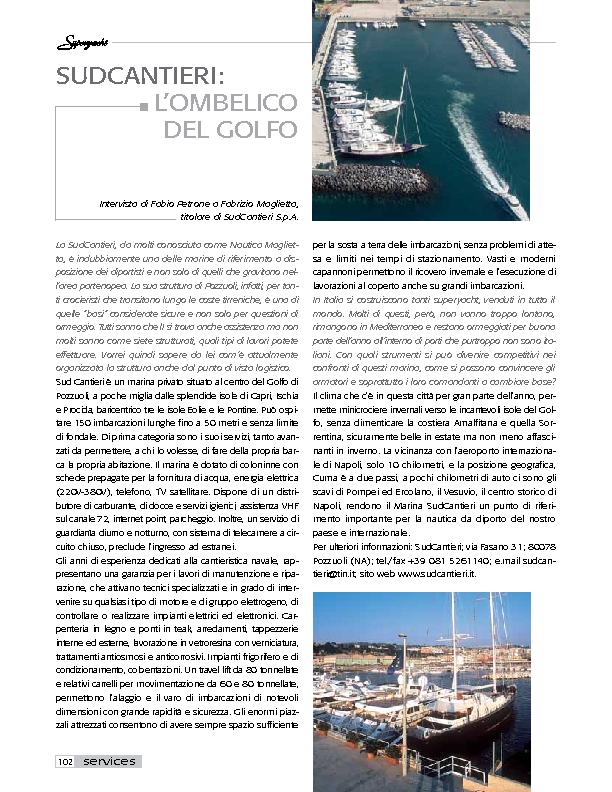 Superyacht – Gennaio 2004